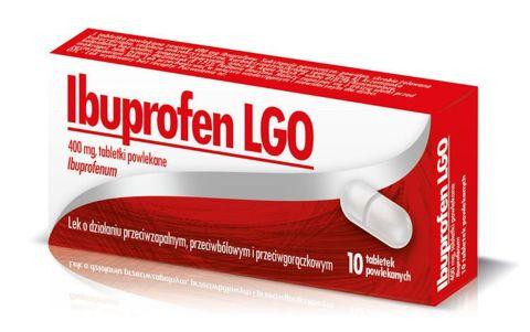 IBUPROFEN LGO 400mg x 10 tabletek