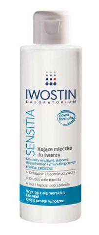 IWOSTIN SENSITIA Kojące mleczko oczyszczające do twarzy 215ml