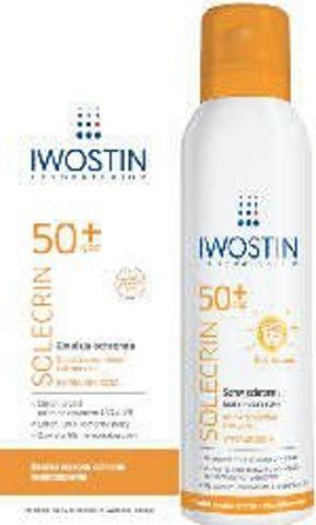 IWOSTIN Solecrin Zestaw Mama i Dziecko Emulsja SPF50+ 150ml + Spray Multipozycyjny 100ml