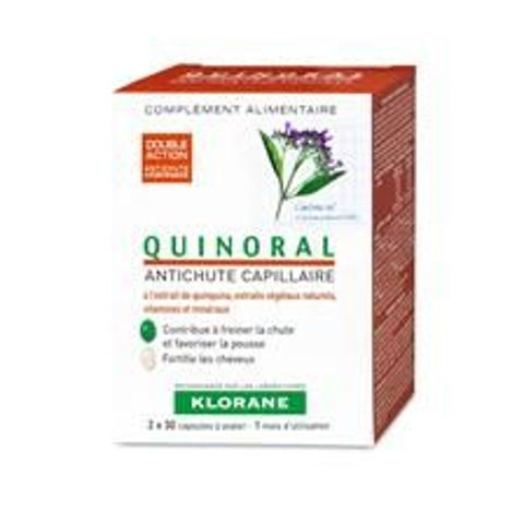 KLORANE Quinoral x 60 kapsułek