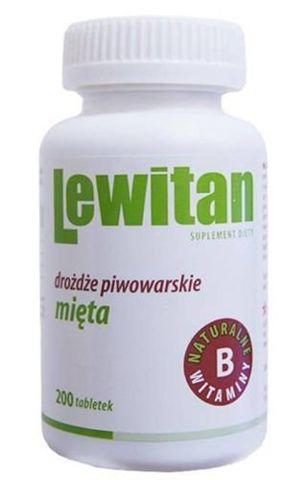 LEWITAN MP z Miętą x 200 tabletek