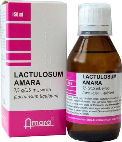 Lactulosum Syrop 7,5g/15ml 200ml