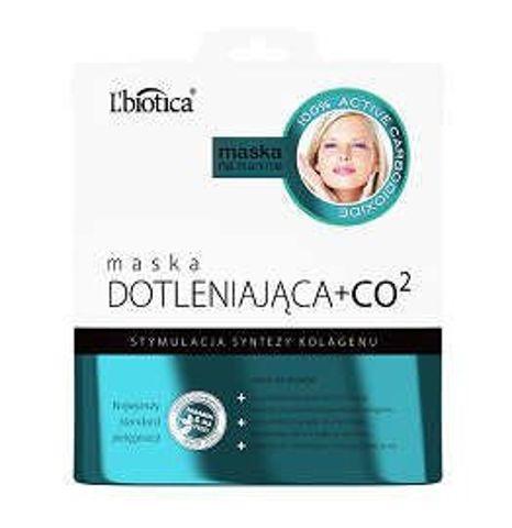 L'biotica Maska dotleniająca + CO2 w postaci nasączonej tkaniny 23ml