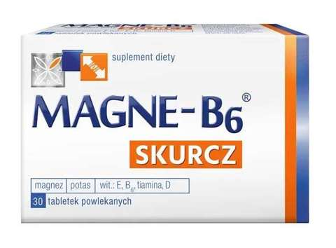 MAGNE B6 SKURCZ x 30 tabletek