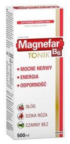 MAGNEFAR B6 Tonic 500ml