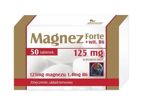 MAGNEZ Forte + VIT. B6 x 50 tabletek