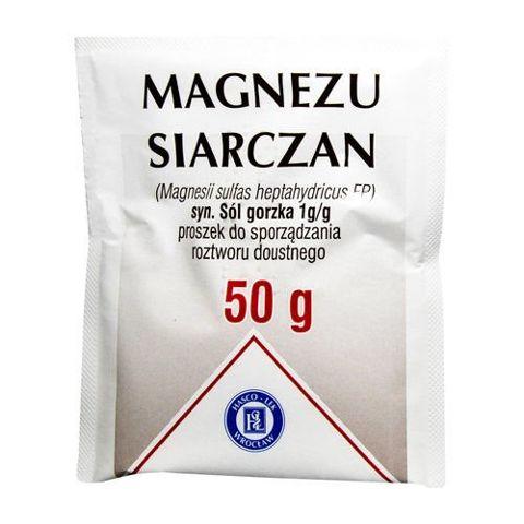MAGNEZU SIARCZAN - Sól gorzka - 50g