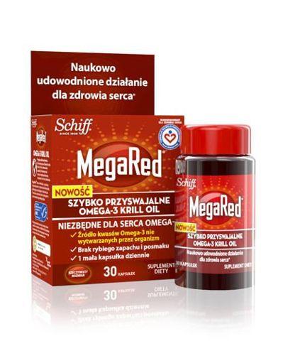 MEGARED Omega-3 Krill Oil 300mg x 30 kapsułek
