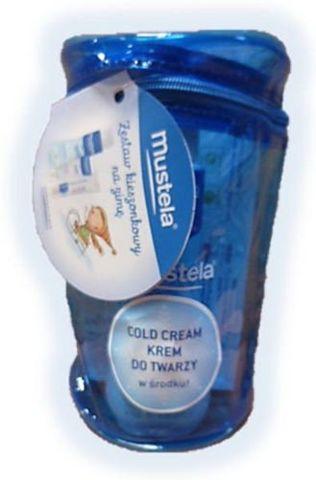 MUSTELA Zestaw kieszonkowy na zimę (3 kosmetyki Mustela Bebe + kosmetyczka)