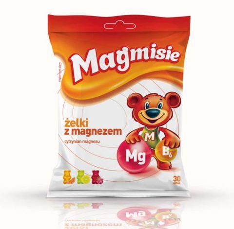 Magmisie żelki z magnezem x 30 sztuk
