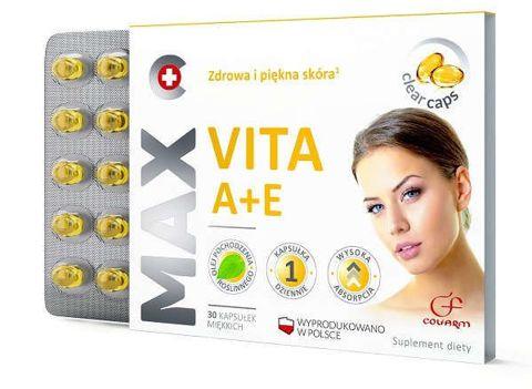 Max Vita A+E x 30 kapsułek