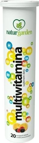 NATURGARDEN Multiwitamina x 20 tabletek musujących