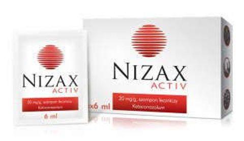 NIZAX Activ 20mg/g szampon leczniczy 6ml x 6 saszetek