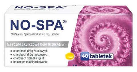 NO-SPA 0,04 x 40 tabletek