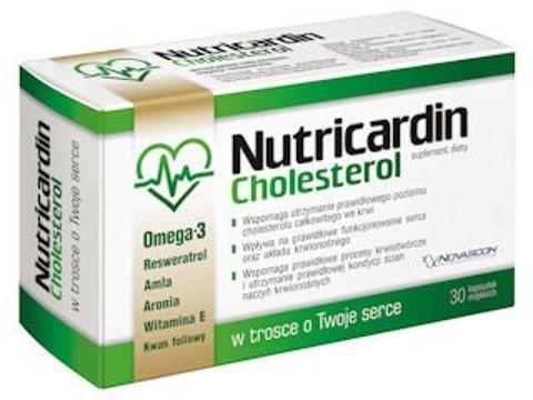 NUTRICARDIN Cholesterol x 30 kapsułek