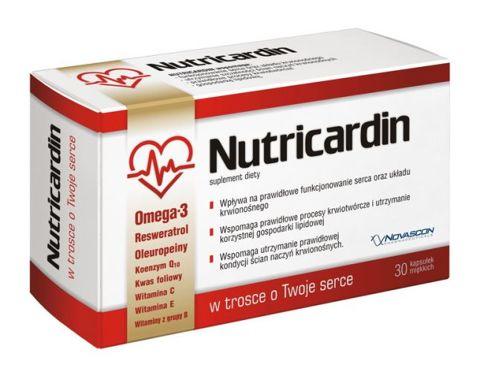 NUTRICARDIN x 30 kapsułek