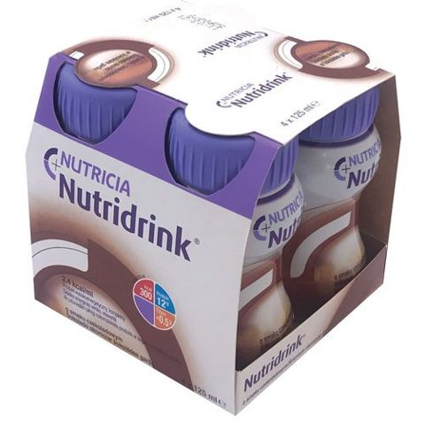NUTRIDRINK o smaku czekoladowym 4 x 125ml