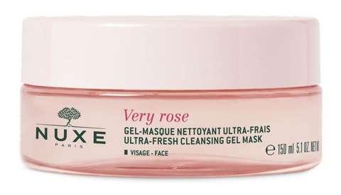 NUXE Rose Petal Delikatnie oczyszczająca maseczka krem 50ml