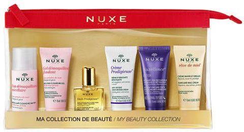 NUXE Zestaw podróżny 5 miniproduktów + kosmetyczka