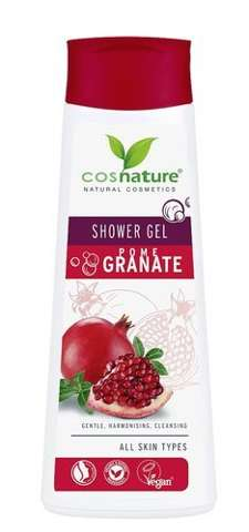 Naturalny odżywczy żel pod prysznic z owocem granatu 250ml