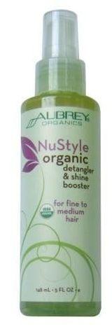 NuStyle Organiczny spray ułatwiający rozczesywanie i wzmacniający połysk włosów 148ml