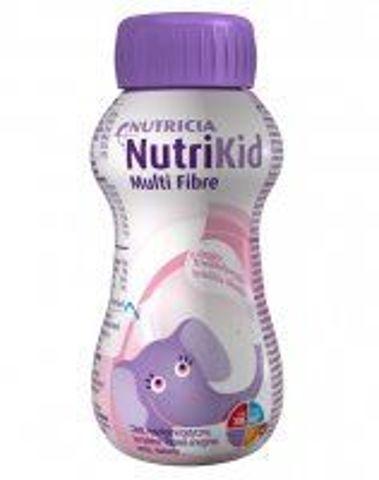 NutriKid Multi Fibre o smaku truskawkowym 200ml