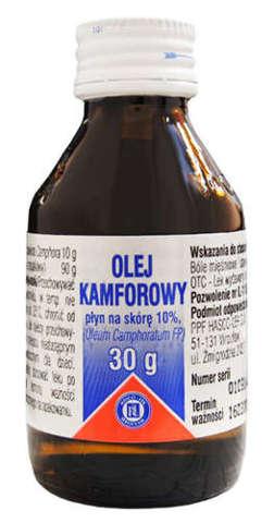 OLEJEK kamforowy (Oleum camphoratum) 30g