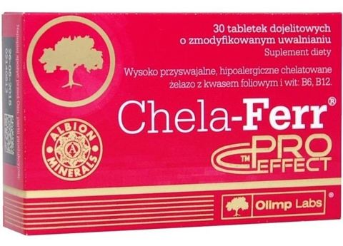 OLIMP Chela-Ferr ProEffect x 30 tabletek