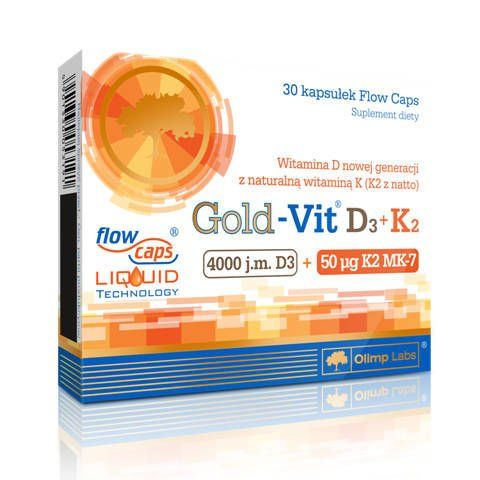 OLIMP Gold-Vit D3 + K2 Plus x 30 kapsułek