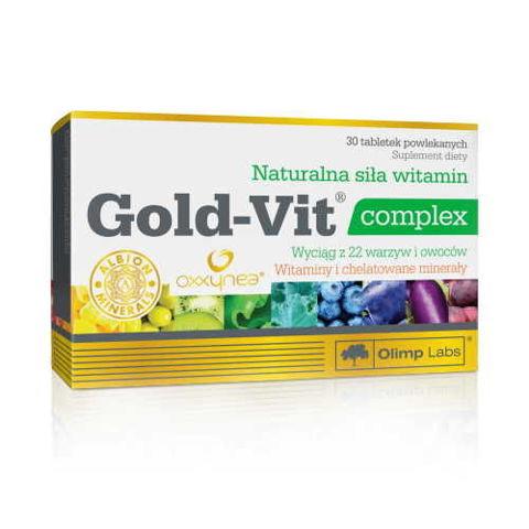 OLIMP Gold-Vit complex x 30 tabletek - data ważności 21-09-2017r.