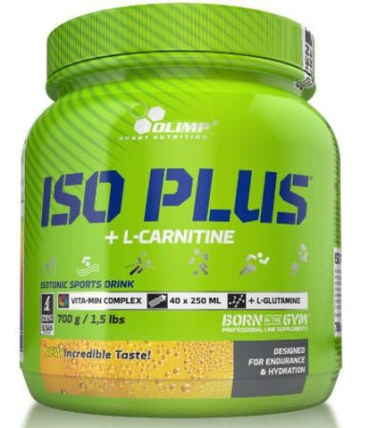 OLIMP IsoPlus powder 700g orange