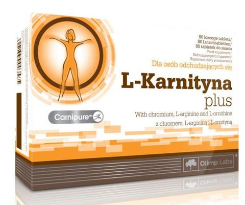 OLIMP L-Karnityna Plus x 80 tabl.