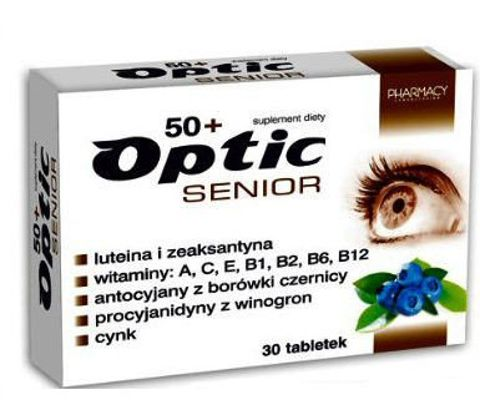 OPTIC SENIOR x 30 tabletek