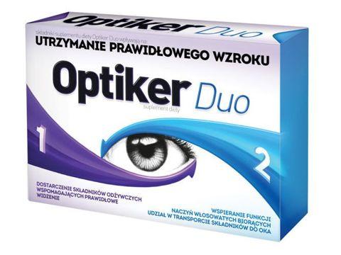 OPTIKER DUO x 30 tabletek