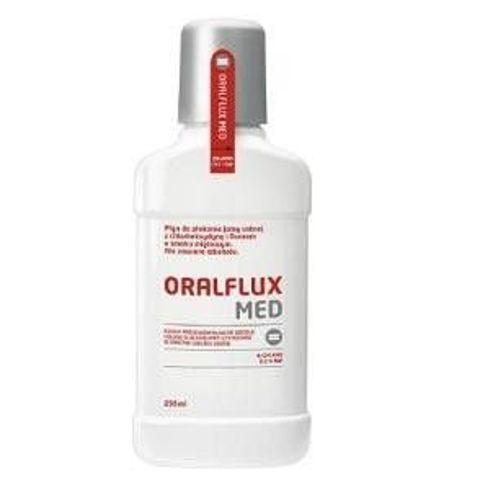 ORALFLUX MED Płyn do płukania jamy ustnej 250ml