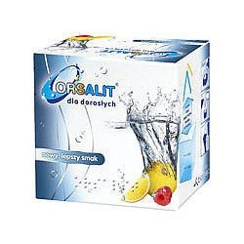 ORSALIT Dla dorosłych x 10 saszetek malinowo-cytrynowe