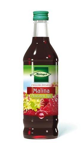 OWOCOWA SPIŻARNIA Syrop Malina z kwiatem lipy 550g