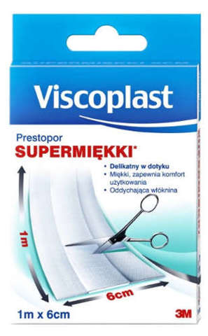 PLASTER VISCOPLAST Prestopor 1m x 6cm