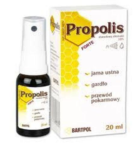 PROPOLIS FORTE 10% roztwór etanolowy 20ml