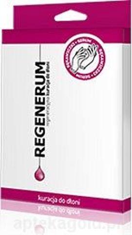 REGENERUM Regeneracyjne serum do dłoni rękawiczki x 1 para
