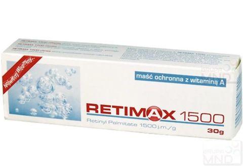 RETIMAX 1500 maść 30g
