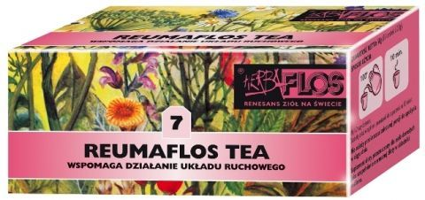 REUMAFLOS TEA 7 Fix 2g x 25 saszetek