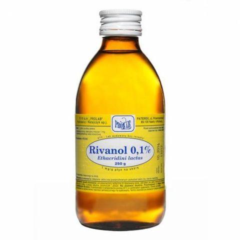 RIVANOL 0,1% roztwór 250g