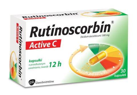 RUTINOSCORBIN Active C x 30 kapsułek