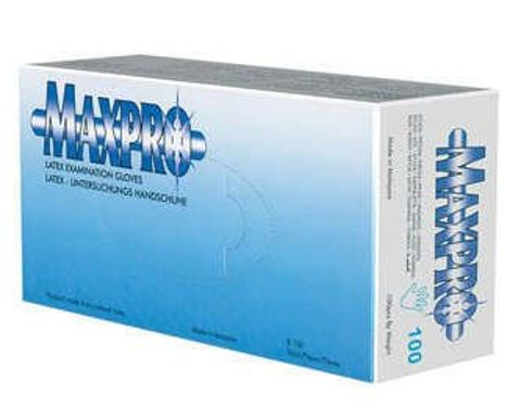 Rękawice Max-Pro latex rozmiar L x 100 sztuk