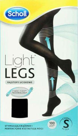 SCHOLL Light Legs Rajstopy uciskowe 60 DEN rozmiar S czarne x 1 sztuka