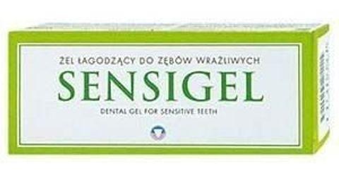 SENSIGEL żel łagodzący do zębów wrażliwych 50ml