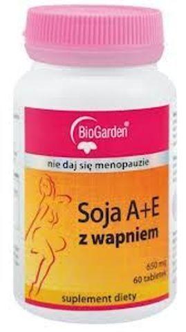SOJA A+E Z wapniem x 60 tabletek