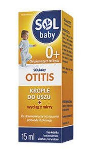 SOLBABY OTITIS Krople do uszu 15ml