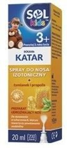 SOLKIDS KATAR Spray do nosa 20ml
